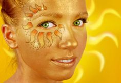 sun face paint | Recent Photos The Commons Getty Collection Galleries World Map App ...