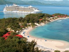 Royal Caribbean's private island in Labadee - Haiti