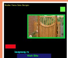 Wooden Fence Gate Designs 211324 - The Best Image Search