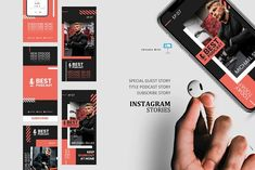 Podcast ig stories and posts keynote by rivatxfz Instagram Design, Instagram Story, Instagram Feed, Company Presentation, Presentation Templates, Editing Pictures, Keynote Template, Special Guest, Parents