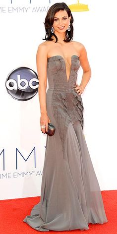 Morena Baccarin, Emmys' Arrivals Gallery - Emmy Awards 2012 : People.com (Jason Merritt/Wireimage)
