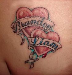 In Loving Memory Tattoo Hearts | Cool Tattoo Designs