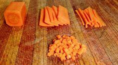 Brunoise, Julienne, Mirepoix : comment tailler les légumes en fonction du plat ?