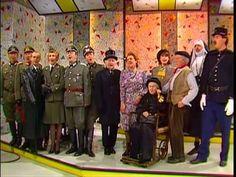 Under The Bridges Of Paris - cast of British Comedy 'Allo ' Allo at 1985 Benefit