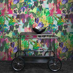 Monstera wallpaper by Kahandi. Designed In Helsinki!!