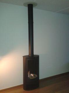 De Wanders Solea Elegance gaskachel van fabrikant @wandersfires geïnstalleerd bij een klant in Randwijk.