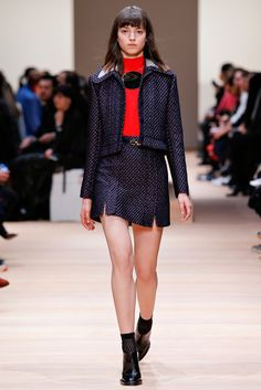 Carven Fall 2015 Ready-to-Wear Fashion Show - Rebeca Marcos