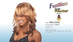 BALIGIRL- Shake N Go Freetress Band Fullcap Wig#1B by Freetress. $17.97. Elastic Banded for Comfortable Fit. Long Wavy Fullcap Wig. Double-Combed for Secure Hold. Freetress Synthetic Halfwig