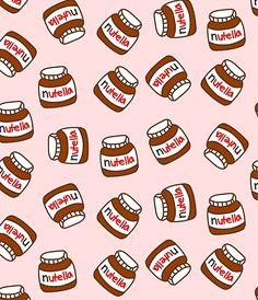 """Hello Galerinha Essas são as imagens que eu separei para vocês, para procurar mais no Google é só escrever """"background de nutella"""" e ..."""