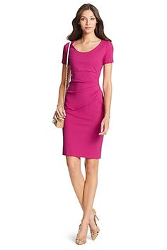 DVF Bevina Ceramic Sheath Dress
