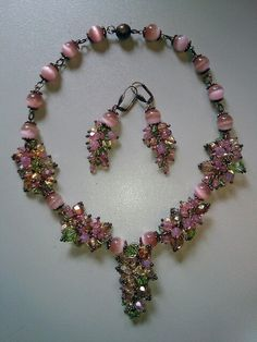 Bellino Gingillo - jewelry Set - earrings and necklace