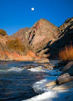 A view of the Rio Grande - New Mexico
