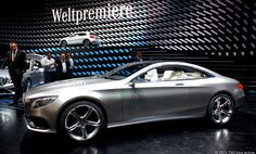 Mercedes-Benz S-class Coupe concept... more of a want then a need really lol