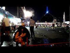 Mystery Woman Gave LV Crowd Chilling Warning - YouTube