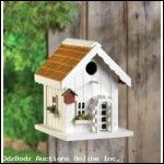 Happy Home Birdhouse - FREE SHIP Continental 48 USA