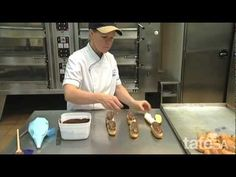 How to make choux pastry Pastry Cook, Choux Pastry, Cooking Videos, Food Videos, Swiss Rolls, Famous French, Unique Cakes, Kitchen Tips, Ipad Case