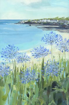 Claire Henley Paintings   The Harbour Gallery Portscatho