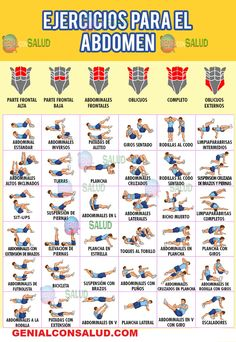 36 exercises FOR THE ABDOMEN. Here you will see in the photos a series of exercises that will help you to have a defined body. 36 exercises FOR THE ABDOMEN. Here you will see in the photos a series of exercises that will help you to have a defined body. Natural Teething Remedies, Natural Remedies, Herbal Remedies, Health Remedies, Workout Bauch, Health Education, Health Motivation, Herbal Medicine, Workout Programs