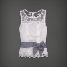 Abercrombie lace blouse