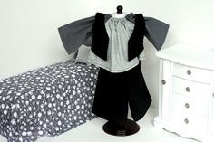 Waldorf doll vest, shirt and pants for a boy
