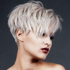 Résultats de recherche d'images pour «coupe de cheveux femme 2017 court»