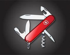 Swiss Army Knife - Free Vector Graphics #vector #vectorgraphics @John Allen