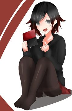 Ruby with her DS
