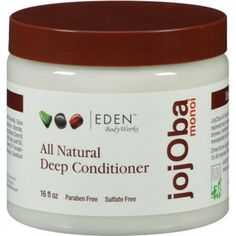 Eden BodyWorks All Natural Jojoba Monoi Deep Conditioner//5 Best Moisturizing Deep Conditioners Natural Hair