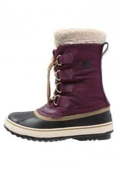 2da3c92831 Sorel - WINTER CARNIVAL - Stivali da neve - purple dahlia black Botas De  Nieve