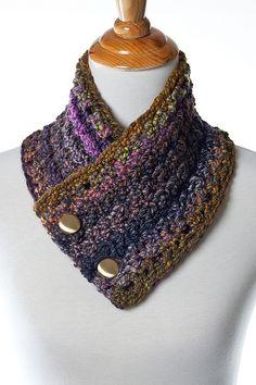 crochet pattern - helen neckwarmer