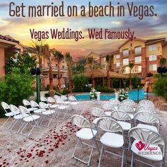 Get Married At The Hilton Hawaiian Garden Wedding Venue With Vegas Weddings