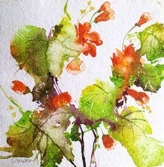 Pamela Harnois Watercolor