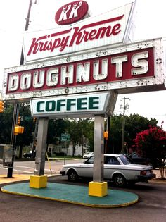 Krispy Kreme is an international chain of doughnut stores that was founded by Vernon Rudolph in 1937 in Winston-Salem, North Carolina, United States.While selling assorted types of doughnuts, Krispy Kreme's signature item is a glazed doughnut that is traditionally served warm.
