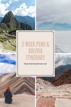 2 Week Peru and Bolivia Itinerary that shows you all the highlights of both countries including hiking the Inca Trail #Peru #bolivia #southamerica #travelguide #Peruitnerary #boliviaItinerary #machupicchu