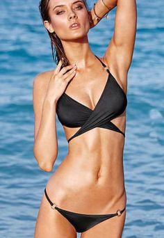 Sexy Cross Strap Bikini Suit