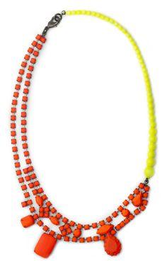 Tom Binns Bicolor Asymmetric Necklace