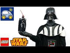 Лего Звёздные войны Дарт Вейдер 75111 — как Илья и Картонка в Джедаев играли…