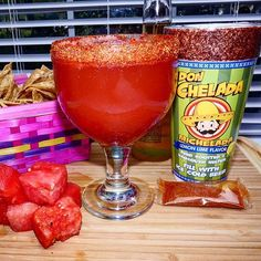 Are you ready for #CincoDeMayo? Check out our #MexicanLollipopMichelada!  Ingredients:  1 Lemon Lime Don Chelada Cup 1/2 cup of watermelon 1 12oz. Mexican beer (we used Modelo) Directions:  Blend the watermelon until liquefied. Pour watermelon on the Don Chelada cup, add the Lemon Lime spice packet, add beer. Stir. ENJOY!  #DonChelada #LemonLime #MexicanCandy #MexicanBeer #Michelada #MicheladaMix #Fiesta #Party #Fun #Friends