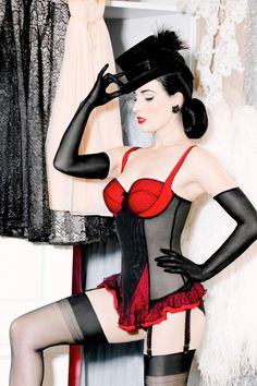 Dita Von Teese- My ultimate weight loss inspiration. Once I'm down I want to train for a burlesque dance.