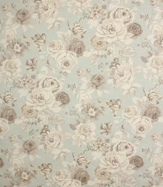 Delightful country style floral cotton printed fabric suitable for curtains and blinds. This fabric is also suitable for light weight upholstery. Looks beautiful when made into curtains. Why not take advantage of our made to measure service and have your curtains or blinds hand made for you by our skilled workroom? Just click on the create curtains/blinds button above to begin.