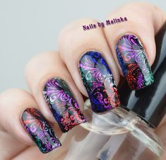 Nails by Malinka: Alcohol inkt
