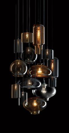 Pendant clusters - Pendants - Indoor