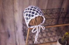 Jean bonnet jean cap for newborns vintagehat crochet Newborn Hats, Newborns, Drawstring Backpack, Winter Hats, Cap, Trending Outfits, Crochet, Unique Jewelry, Handmade Gifts