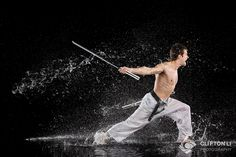 Indoor martial arts photography with water and high-speed flash sync (Part II/II) | ISO 1200 Magazine | Photography Video blog for photographers