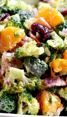 Mandarin Broccoli Salad