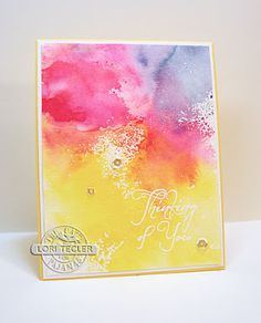 1000 Images About Cards Smooshing On Pinterest
