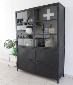 Industrial Loft Small and Industrial Lighting Bedroom Rack Industrial, Industrial Living, Industrial Bookshelf, Industrial Office, Industrial Farmhouse, Industrial Furniture, Vintage Industrial, House Doctor, Muebles Living