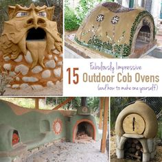 15 BEAUTIFULLY PRACTICAL Cob Ovens & How to Build One Yourself | Off Grid World