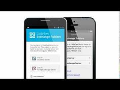 Access Exchange personal and public folders from Android, iPhone or iPad