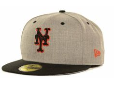 """New York Mets New Era """"MLB Gray Hound Fitted 59FIFTY Cap"""""""